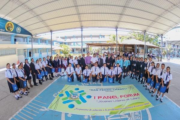 Líderes Escolares proponen Alternativas de Solución Frente a la Problemática Ambiental de Nuestra Provincia de Sullana
