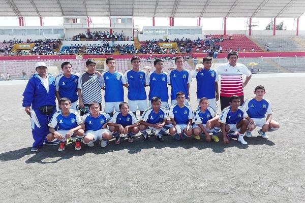 """¡Palmas a los Campeones! – Sub 14 de Fútbol Chanelista """"Campeón de los Juegos ADECORE 2016"""