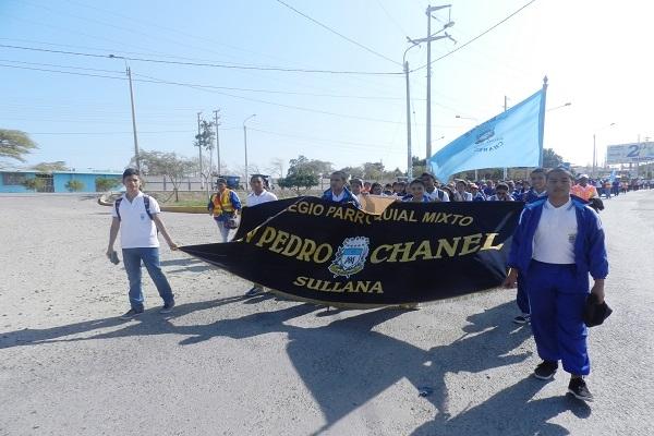 """Peregrinación hacia el Santuario de la """"Mamita Meche"""""""