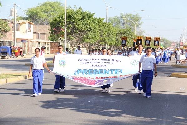 Inauguración de los Juegos Nacionales Deportivos Escolares